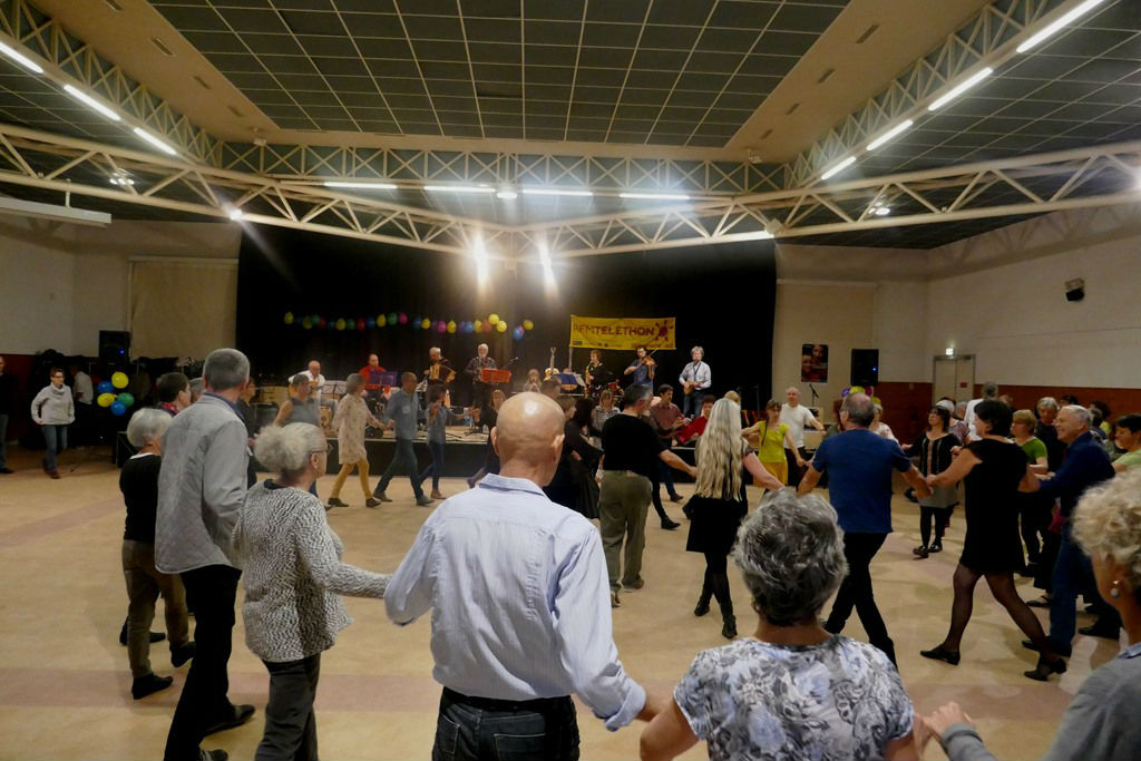 Danseurs Folk musique traditionnelle